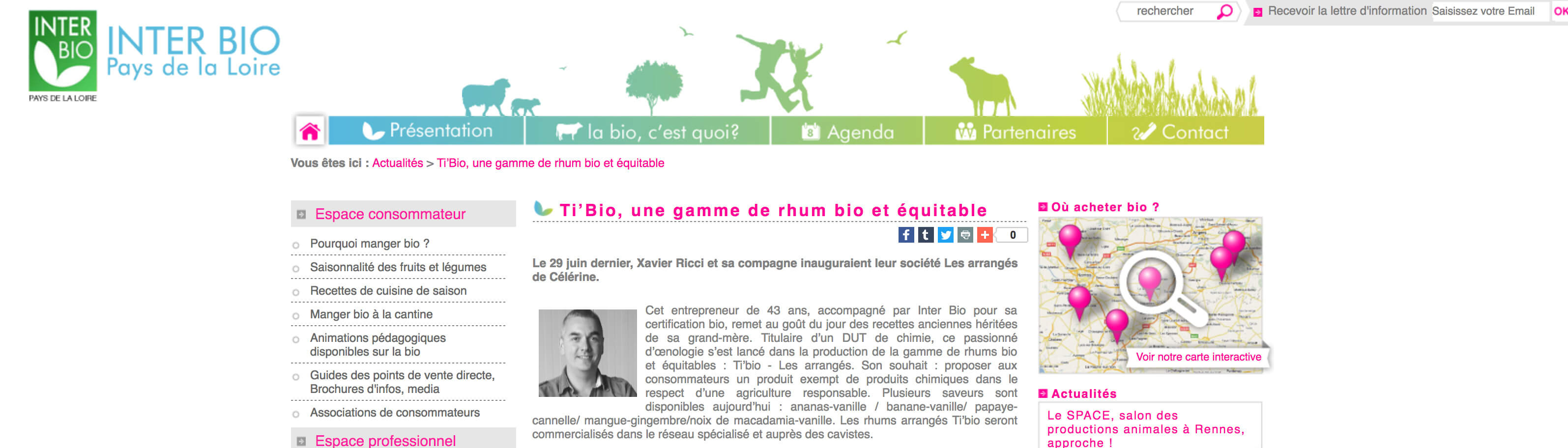 Article agence InterBio