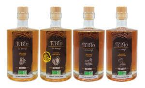 4 parfums gamme arrangés brut ti'bio
